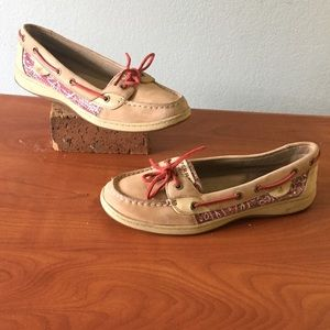 Sperry Top Sider Paisley Sequin Boat Shoes